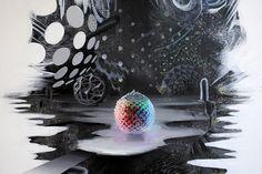 "Studio Visit: Behind the Scenes of David Choong Lee's ""Cosmic Dust"" | Hi-Fructose Magazine"