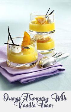 Flummery, Orange Punch, Group Meals, Jelly, Vanilla, Easy Meals, Diet, Snacks, Baking