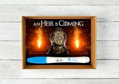 Game of Thrones Baby Announcement Instant Download by BabyBlabber