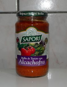 Espaço Sempre Bella: #Resenha - Macarronada Com Molho de Tomate com Alc...