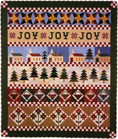 Christmas Joy Sampler quilt currently in progress. How long I won`t say but my goal is to finish for Christmas 2011. It`s so beautiful!