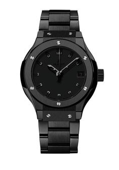 Bâle horlogerie Baselworld 2013 montre Hublot Classic Fusion All Black