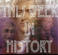 this week in history - online subscription looks cool Teacher Toolkit, History Timeline, Thomas Jefferson, Kids Education, History Education, Looks Cool, Educational Technology, Social Studies, Curriculum