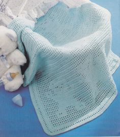 couverture ourson au crochet pour bébé lien vers pdf