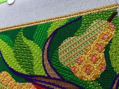 A blog about the new face of needlepoint as written by Ruth Schnuff, needlepoint designer and owner of Bedecked and Beadazzled in Lutherville, MD