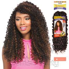 Hair Color Shown : S1B/30 - SamsBeauty.com