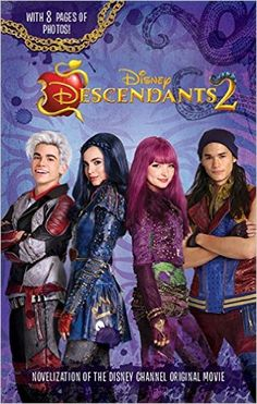 I haven't have this book yet, but I do have is the Descendants one at home and it is in my bookshelf were I keep all of my books.