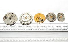 Vintage watch movements clockworks for your art by vintagelarisa, $16.88