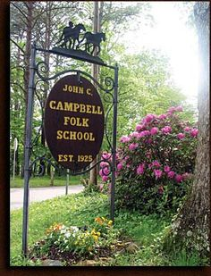 Classes at John C. Campbell.  Jewelry arts?  Writing?  Photography? Fiber arts?  All of the above?