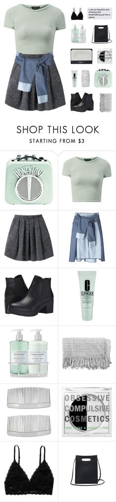 """""""⋅ your body is a work of art ⋅"""" by sisterly-stars ❤ liked on Polyvore featuring Wood Wood, Aviù, Steve Madden, Clinique, Williams-Sonoma, NARS Cosmetics, canvas, John Lewis, Obsessive Compulsive Cosmetics and Monki"""