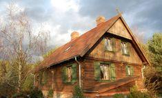 Dom drewniany w Wielkopolsce