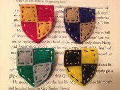 Harry Potter Gryffindor House Colors Badge Felt Patch