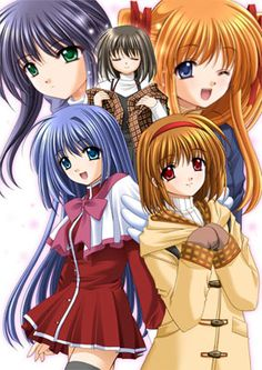 Kanon, also the best anime :-)