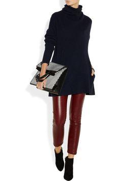 Maison Martin Margiela Wool and cashmere-blend turtleneck sweater NET-A-PORTER.COM