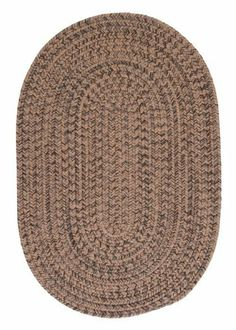 Colonial Mills Hayward HY89 Mocha 2' x 4' Oval by Colonial Mills. $59.00. Establish a rich, yet casual decor with the warm, heathered highlights in this versatile tweed rug design.
