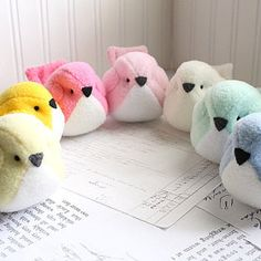 Cute stuffed animals handmade in the USA. by bubbletime on Etsy