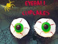 Easy Eyeball Cupcakes
