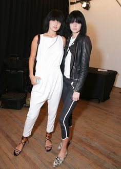 Pin for Later: 34 Times Kendall Jenner and Gigi Hadid Had the Very Best BFF Style Their Understated Backstage Outfits