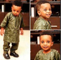 Petit boss ~African fashion, Ankara, kitenge, African women dresses, African prints, Braids, Nigerian wedding, Ghanaian fashion, African wedding ~DKK