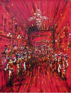 "Jazzamoart ""El Bob de Rembrandt"", 2012 acrílico sobre tela 40 x 30 cm."