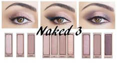 Do you own a Naked 3 palette and want ideas on which make up to make? Here are three t . - Do you own a Naked 3 palette and want ideas on which make up to make? Here are three t … – - Make Up Palette, Naked Palette, Circus Makeup, Carnival Makeup, Makeup Inspo, Makeup Inspiration, Makeup Tips, What Is Makeup, Beauty Make-up
