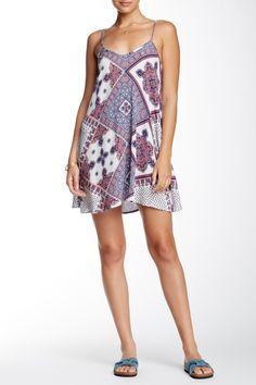 Diamond Printed Slip Dress