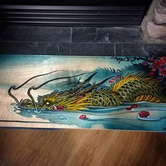Just need to find him a good home. 31x11 inches on maple. #teamrtcinc