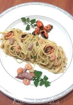 Spaghetti alla carbonara di mare di Franco Graziano