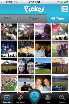 TNW Pick of the Day: Picket lets you tag event photos from your actual seat #photoshare #phototag #App