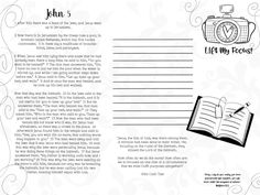 DAY 5 / iPad Journaling through John / with SHE READS TRUTH app – 1Arthouse
