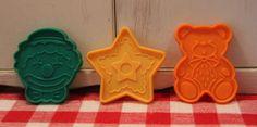 Fun Vintage Detailed Cookie Cutters! Clown Star Teddy Bear