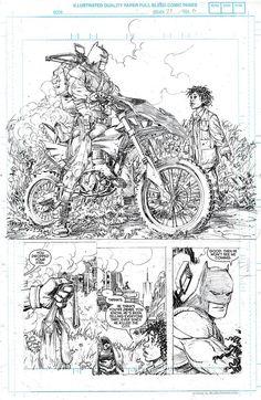 Batman Zero Year #1 by Scott Snyder and Greg Capullo