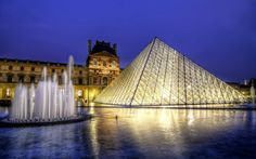 The Louvre ~ http://suitcasesandsunsets.com/the-louvre.html