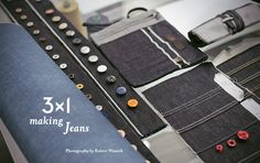 3X1 - Making a Jeans -