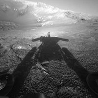 One Tough Robot  20 May 2010  NASA's Mars Exploration Rover Opportunity breaks a historic Martian longevity record set by NASA's Viking 1 Lander of six years and 116 days operating on the surface of Mars.