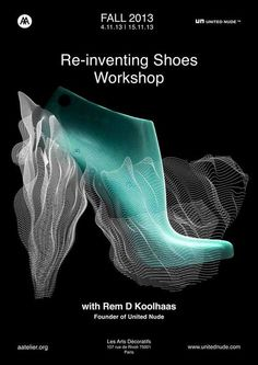 Rem D. Koolhaas Teaches Architects How To Reinvent Shoes At AAtelier In Paris - Architizer Journal Architectural Association, World Problems, Data Visualization, Inventions, Workshop, The Unit, Nude, Graphic Design, Teaching