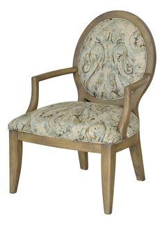 Hannah Arm Chair Pompeii Sky/Jute 32559-PS