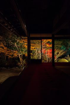 Nanzen-ji temple at night, Kyoto, Japan