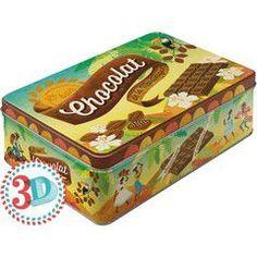 Nostalgic Μεταλλικό κουτί Flat Chocolat