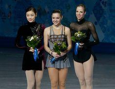 2014 Olympics Women's Figure Skating Podium - Interesting Results