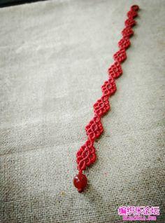 step by step photos - easy to follow macrame bracelet