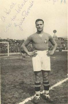 """""""Gino Rosetti"""" Torino (1928-29) 36 goles en 30 juegos ( 31,3%) Rosetti tuvo una carrera de 20 años del club en 2 etapas en el Torino hizo 238 apariciones y anotó 145 goles. Fue convocado 13 veces por Seleccion Italiana y apareció en los Juegos Olímpicos de 1928, ganando la medalla de bronce.1928/29"""