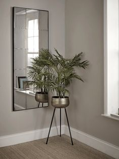 Hall Mirrors, Hallway Mirror, Tall Wall Mirrors, Mirrors For Sale, Floor Mirrors, Mirrors On Stairs, Wall Mirror Ideas, Corner Mirror, Window Mirror