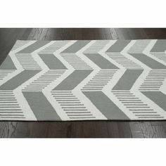 nuLOOM Handmade Modern Chevron Wool Rug - 15024385 - Overstock.com Shopping - Great Deals on Nuloom 7x9 - 10x14 Rugs