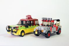 Jurassic Park vehicles #flickr #LEGO #MOC