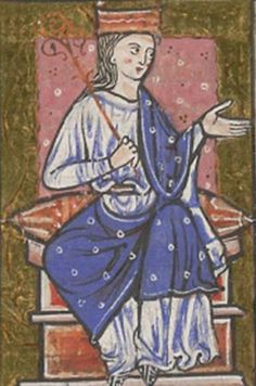Early medieval illustration of Aethelflaed - Lady of Mercia from England's Anglo-Saxon period at the end of the early middle ages. Anglo Saxon History, European History, Women In History, British History, Ancient History, History Icon, History Medieval, History Memes, Funny History