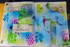 art journal mixed media Dylusions