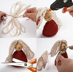 white and grey palette hanging Christmas decorations, sewing crafty Christmas ideas Christmas Bells, Felt Christmas, Christmas Angels, All Things Christmas, Christmas Ornaments, Felt Crafts, Christmas Crafts, Illustration Noel, Navidad Diy