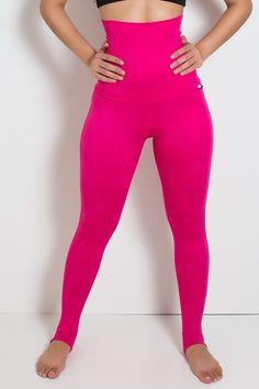 Calça Modeladora com Pezinho (Rosa Pink, Azul Celeste, Azul Marinho, Azul Royal) M, G, GG - R$70