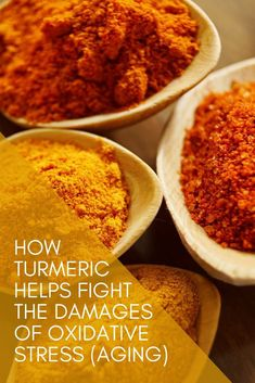 As the benefits of turmeric become more clear we know that spices like turmeric can do more than just help with inflammation and joint pain. This powerful spice is an awesome anti-oxidant that helps with oxidative stress. Turmeric Health, Turmeric Tea, Organic Turmeric, Turmeric Curcumin, Ginger Tea Bags, Ayurvedic Tea, Curcumin Extract, Oxidative Stress, Tips Belleza